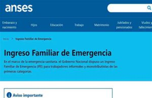 El municipio de Jacobacci inscribe para el Ingreso Familiar de Emergencia