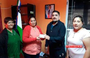Funcionarios de Ramos Mexia donan $ 141.528 al hospital local